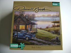DARRELL BUSH JIGSAW PUZZLE EARLY TO RISE 1000 PIECES COMPLETE GREAT SHAPE