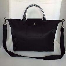 Longchamp Le Pliage Neo Medium Black Hobo Handbag 1515