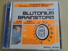 DJ Session One presents BLUTONIUM BRAINSTORM VOL.3 100% Turntable Mix 2 CD!TOP!