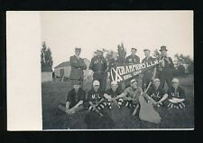 Canada baseball Rural League Champions LLW 1915 group photo RP PPC