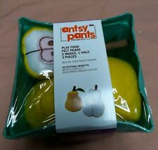 Antsy Pants Pretend Play Food - Felt Pears - Boosts Creativity *Read Details*