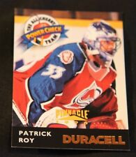 1996-97 Pinnacle Duracell The All Cherry Power Check Team Patrick Roy #DC17