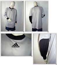 C - Maillot Gardien de But Gris et Noir Adidas Taille L