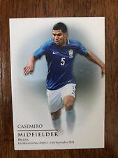 2018 Futera Unique Football Soccer Card Real Madrid Brazil CASEMIRO Mint