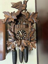 black forest cuckoo clock, 8 day . D Hones.