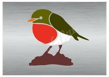 Christmas Robin stencil A5 to A0 14cm to 1.2 meters or bigger CMAS095