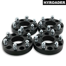 """4pc 6x5.5 Hubcentric Wheel Spacers 1.25"""" for 1995-2017 Chevy Tahoe 14x1.5 Studs"""