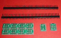 10x SOT 23 DIP10 Adapter Platine SMD 0,50 Konverter SO 10 SOP 10 TSSOP10 + PIN