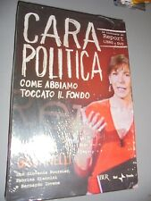 DVD+LIBRO MILENA GABANELLI CARA POLÍTICA COME TOCAMOS FONDO INFORMES