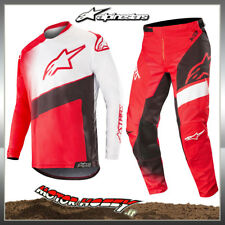 COMPLETO CROSS ENDURO ALPINESTARS RACER SUPERMATIC 2019 RED BLACK WHITE 36 - XL