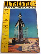 Authentic Science Fiction Monthly #35 – UK Digest – July 1953 - Daniel Galouye