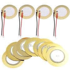 50pcs Piezoelectric Piezo Ceramic Wafer Plate 15mm For Buzzer Loudspeaker