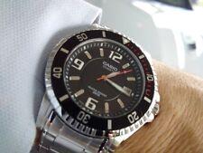 orologio casio collection da uomo acciaio analogico sportivo nero data subacqueo