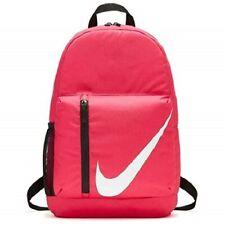 New 1343 CU. IN. Nike Elementals Backpack Pink/Black/White BA5405 622