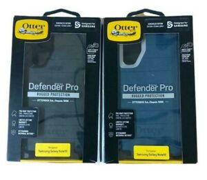 Otterbox Defender Pro Case + Holster for Samsung Galaxy Note 10 Only Black Blue