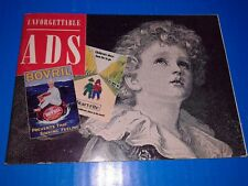 UNFORGATABLE ADS.48 Pages booklet,advertising,Bovril,Guinness,Cadburys,Oxo,Shell