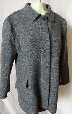 HILARY RADLEY BOUCLE WOOL COAT JACKET 12