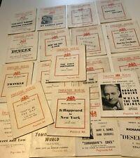 More details for 20x 1943-45 theatre royal brighton programmes john mills peter cushing etc