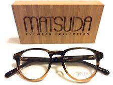 NUOVO MATSUDA M1007 HD GRADUATI Brown 47-19-143 Panto forma 405 Occhiali telaio