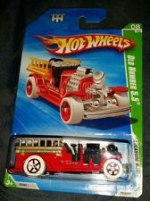 2010 Hot Wheels TREASURE HUNT Fire Engine OLD NUMBER 5.5 Fire Truck '10 TH 08/12