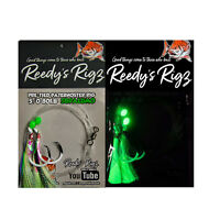 10x Snapper Rigs Paternoster Fishing Flasher Bottom Reef Surf Reedy's® UltraBait
