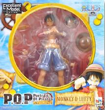 Used Megahouse P.O.P Portrait Of Pirates One Piece  Monkey D Luffy PVC