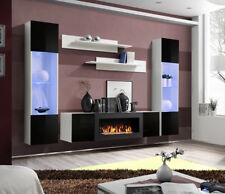 Idea M3 - living room unit with fireplace / living room entertainment center