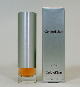 CONTRADICTION CALVIN KLEIN PURE PERFUME 3.7 ML. 0.13FL.OZ. NEW IN BOX.