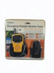 Oregon Scientific Emergency Portable Weather Radio Model WR601N New Sealed