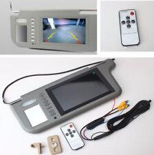 """7 """"Car Sonnenblende Monitor 2 Kanal Video Rückspiegel für DVD-Player Linke Seite"""
