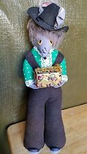 VINTAGE 1960's RAT FINK STYLE, BELL BOTTOM OVERALL RATMAN CHRISTMAS FIGURE/ DOLL