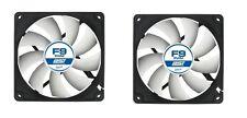 2 Ventilateur Arctic * f9 PWM PST * 92 x 92 x 25 mm * 4-pin PWM + supplément Pwm Suite
