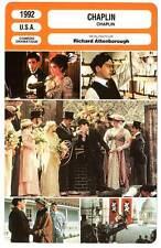 FICHE CINEMA : CHAPLIN - Downey Jr,Rhys,Attenborough 1992