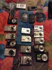 lots d'appareils photos casio,kodak,Sony,nikon, et téléphone BlackBerry