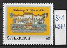 Österreich  personalisierte Marke Philatelietag St. PETER am Hart 8114814 **