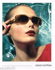 PUBLICITE ADVERTISING 105  2006  LOUIS VUITTON  lunettes solaires