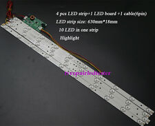 630mm 32'' TV Backlight LED Strips with LED Inverter ,Update LCD Panel to LED