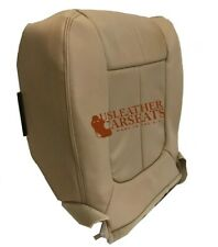 2011 Ford F150 Lariat-Driver Bottom Replacement Perforated Vinyl Seat Cover Tan