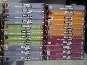 Methode anglais ENGLISH TODAY 22 Vol Très Bon état