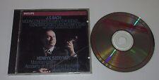 CD/BACH/VIOLIN CONCERTOS 1041/1042/1043/SZERYNG/MARRINER/Philips 416881-2 JAPAN