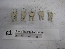 APEM A126 PASS KEY Pack of 5