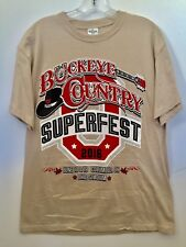 2016 Buckeye Country Superfest Columbus, Ohio Medium T Shirt Jason Aldean