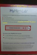MY MATH LAB mymathlab CODE ( Code Only.)
