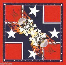 Bandana REBEL FLAMES - Import USA - Style BIKER HARLEY