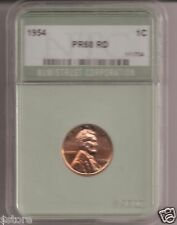 RARE 1954  PROOF RD BRILLIANT UNCIRCULATED