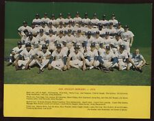 1974 Los Angeles Dodgers Team Photo EX+