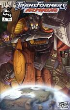 Transformers: Armada #3 Comic Book - DreamWave