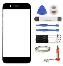 Huawei P10 Lite Glas LOCA Display Touchscreen Scheibe Frontglas blk.