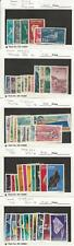 Israel, Postage Stamp, #C1 Used, C2-C47 Mint Most NH, 1950-68, JFZ