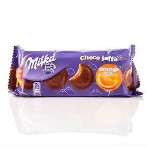 Milka Choco Jaffa Cookies with Orange Jelly Filling 147g 5.2oz